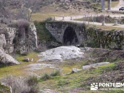 Puentes del Río Manzanares;senderismo de ensueño;senderismo vip